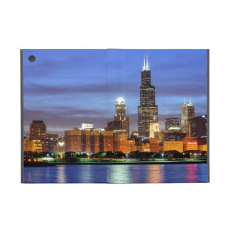 The Chicago skyline from the Adler Planetarium Cover For iPad Mini