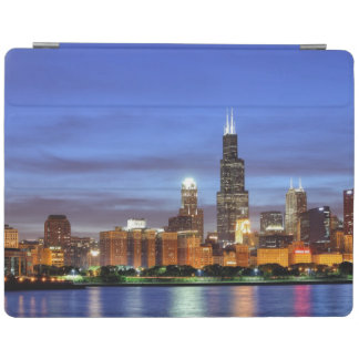 The Chicago skyline from the Adler Planetarium iPad Cover