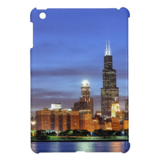 The Chicago skyline from the Adler Planetarium iPad Mini Covers