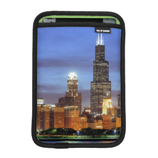 The Chicago skyline from the Adler Planetarium iPad Mini Sleeve