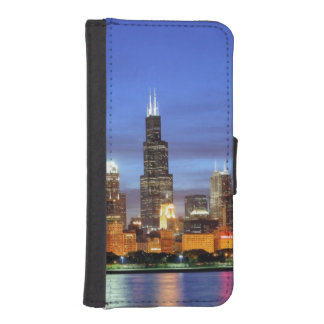 The Chicago skyline from the Adler Planetarium iPhone SE/5/5s Wallet Case