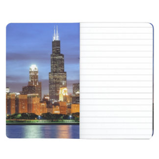 The Chicago skyline from the Adler Planetarium Journal