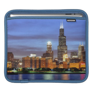 The Chicago skyline from the Adler Planetarium Sleeves For iPads