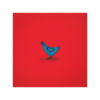 The Chicken Came First... Canvas Print
