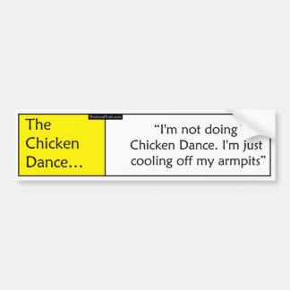 The Chicken Dance Car Bumper Sticker