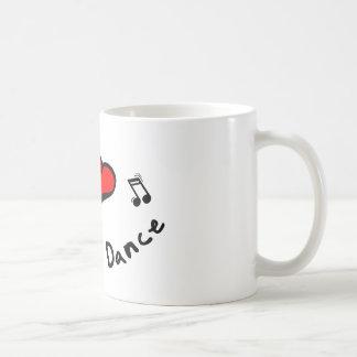 the Chicken Dance I Heart-Love Gift Mug