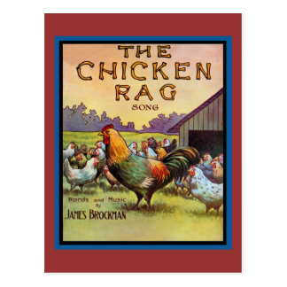 The Chicken Rag Postcard