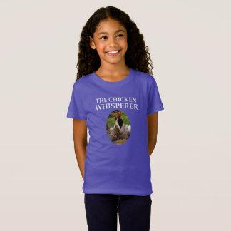 The Chicken Whisperer,  Funny Girl's T-Shirt