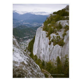 """The """"Chief"""" Arial View in Squamish Postcard"""