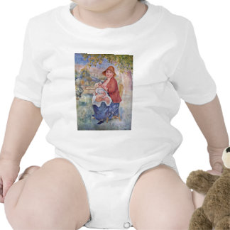 The Child At The Breast Maternity Tshirts