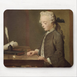The Child with a Teetotum Mouse Pad