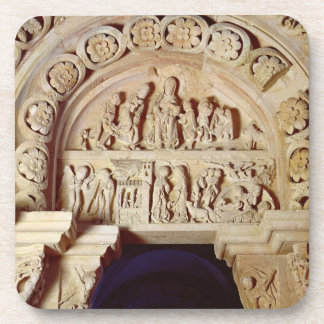 The Childhood of Christ, Tympanum of Right Portal, Coaster