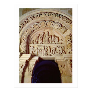 The Childhood of Christ, Tympanum of Right Portal, Postcard