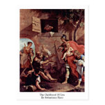 The Childhood Of Ciro. By Sebastiano Ricci Post Cards