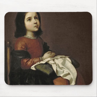 The Childhood of the Virgin, c.1660 Mouse Pad