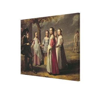 The Children's Dance Canvas Print