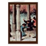 The Children'S Games Detail By Bruegel D. Ä. Piete Greeting Card