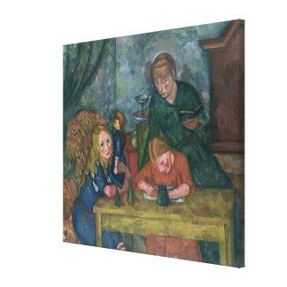 The Children's Parlour Canvas Print