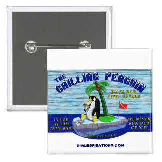The Chilling Penguin Button