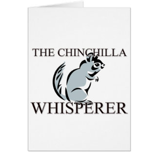 The Chinchilla Whisperer Card
