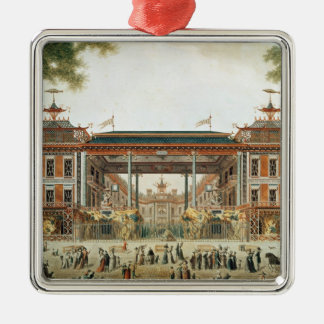 The Chinese Baths in Paris, established by Lenoir Christmas Ornament