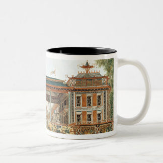 The Chinese Baths in Paris, established by Lenoir Two-Tone Coffee Mug