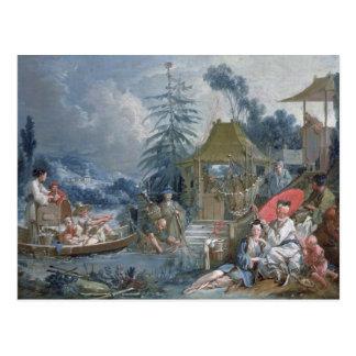 The Chinese Fishermen, c.1742 Post Card
