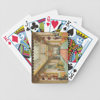 The Chinese Gallery, from 'Views of the Royal Pavi Poker Deck
