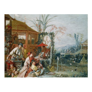 The Chinese Hunt, c.1742 Postcard