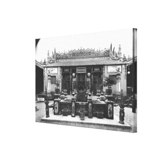The Chinese Pavilion Canvas Print