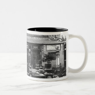 The Chinese Pavilion Two-Tone Coffee Mug