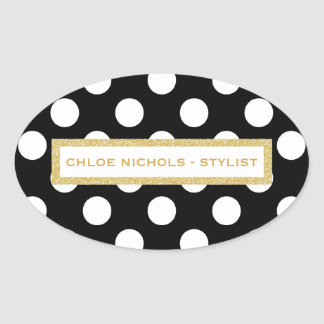 THE CHLOE BUSINESS STICKER/SEAL OVAL STICKER