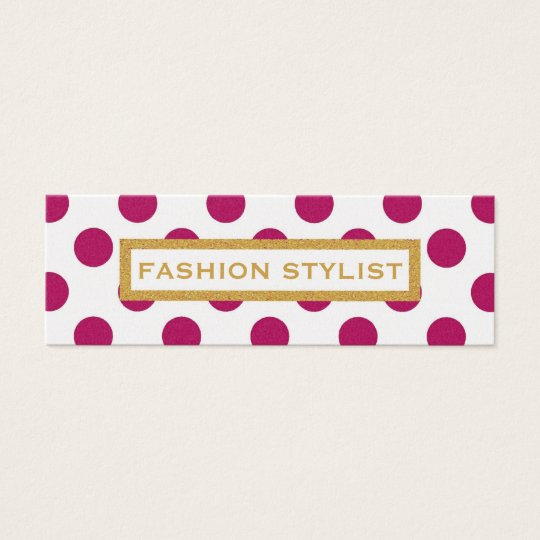 THE CHLOE SKINNY BUSINESS CARD
