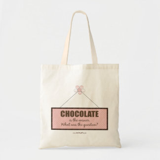 The Chocolate Answer Budget Tote Bag