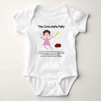 The Chocolate Fairy Baby Bodysuit