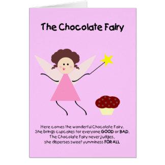The Chocolate Fairy Greeting Card