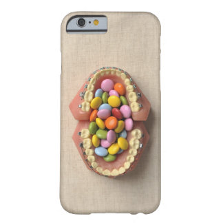 The chocolate served in the dental model barely there iPhone 6 case