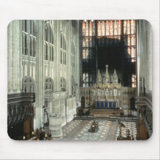The choir and east window, 12th century (photo) mouse pad