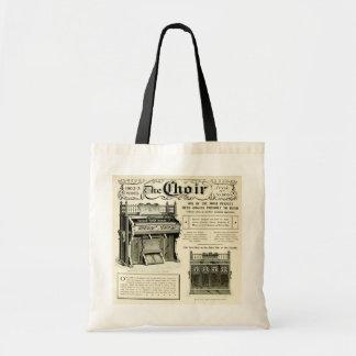 The Choir ~ Vintage Reed Organ Advertising Bags