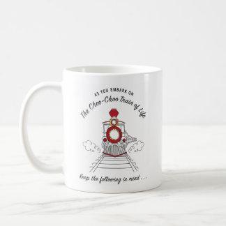 The Choo-Choo Train of Life Mug