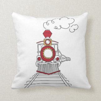 The Choo-Choo Train of Life Pillow