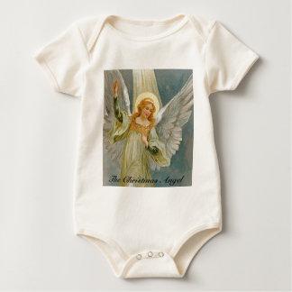 The Christmas Angel Baby Bodysuit