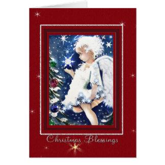 The Christmas Angel Card