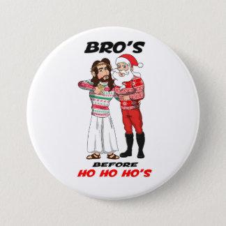 The Christmas Bros 7.5 Cm Round Badge