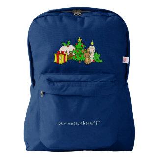The Christmas Bunny Backpack