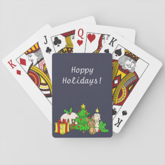 The Christmas Bunny Playing Cards