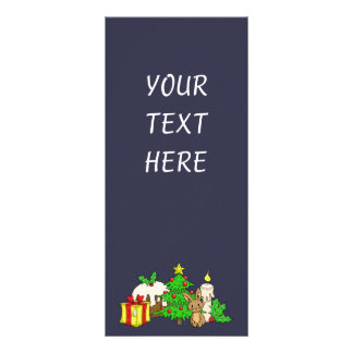 The Christmas Bunny Rack Card