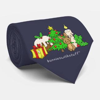 The Christmas Bunny Tie