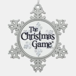 The Christmas Game Snowflake Ornament