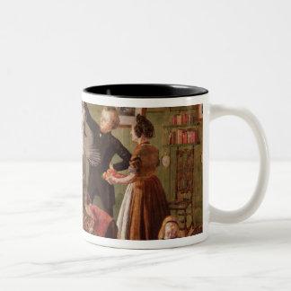 The Christmas Hamper Two-Tone Mug